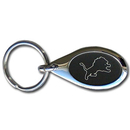 Siskiyou Buckle FKC105O Detroit Lions Etched Key Chain
