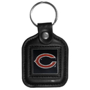 Siskiyou Buckle FLK006 Leather Key Ring - Chicago Bears