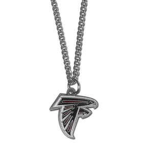 Siskiyou FN070 NFL Logo Necklace - Atlanta Falcons