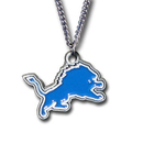 Siskiyou Buckle FN105 Detroit Lions Chain Necklace