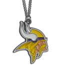 Siskiyou Buckle FN165 Minnesota Vikings Chain Necklace