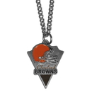 Siskiyou Buckle FPC025 Cleveland Browns Classic Chain Necklace
