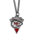 Siskiyou Buckle FPC045 Kansas City Chiefs Classic Chain Necklace