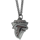 Siskiyou Buckle FPC070 Atlanta Falcons Classic Chain Necklace