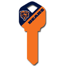 Siskiyou Buckle FQK005 Kwikset NFL Key - Chicago Bears