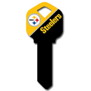 Siskiyou Buckle FQK160 Kwikset NFL Key - Pittsburgh Steelers