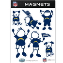 Siskiyou Buckle FRMF040 San Diego Chargers Family Magnet Set