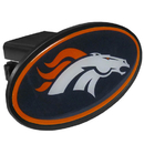 Siskiyou Buckle FTHP020 Denver Broncos Plastic Hitch Cover Class III