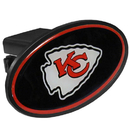 Siskiyou Buckle FTHP045 Kansas City Chiefs Plastic Hitch Cover Class III