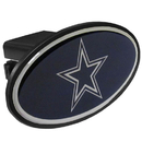 Siskiyou Buckle FTHP055 Dallas Cowboys Plastic Hitch Cover Class III