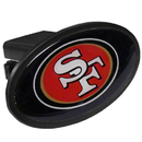 Siskiyou Buckle FTHP075 San Francisco 49ers Plastic Hitch Cover Class III