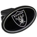 Siskiyou Buckle FTHP125 Oakland Raiders Plastic Hitch Cover Class III