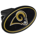 Siskiyou Buckle FTHP130 St. Louis Rams Plastic Hitch Cover Class III