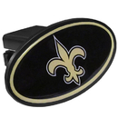 Siskiyou Buckle FTHP150 New Orleans Saints Plastic Hitch Cover Class III
