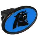 Siskiyou Buckle FTHP170 Carolina Panthers Plastic Hitch Cover Class III