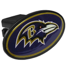 Siskiyou Buckle FTHP180 Baltimore Ravens Plastic Hitch Cover Class III