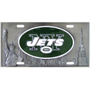 Siskiyou Buckle FVP100 New York Jets Collector's License Plate