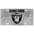 Siskiyou Buckle FVP125 Oakland Raiders Collector's License Plate