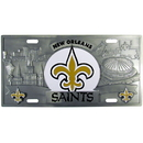 Siskiyou Buckle FVP150 New Orleans Saints Collector's License Plate