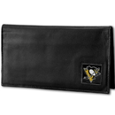 Siskiyou Buckle HDCK100BX Pittsburgh Penguins? Deluxe Leather Checkbook Cover
