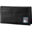 Siskiyou Buckle HDCK105BX New York Rangers? Deluxe Leather Checkbook Cover