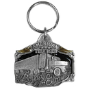 Siskiyou Buckle KR111E Key Ring - American Trucker