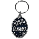 Siskiyou Buckle KR198E Key Ring - World's Greatest Grandma