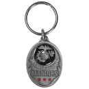 Siskiyou Buckle KR216E Key Ring - U.S. Marines
