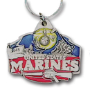 Siskiyou Buckle KR8E Key Ring - U. S. Marines