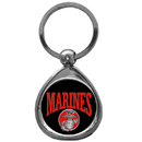 Siskiyou Buckle KTM19C Marines Chrome Key Chain