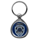 Siskiyou Buckle KTP51C Police Chrome Key Chain