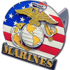 Siskiyou MHC602 Marines Trailer Hitch Cover