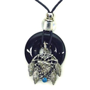 Siskiyou Buckle OP216 Necklace - - Wolf Dream Catcher