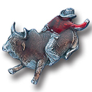 Siskiyou Buckle PN1015E Collector Pin - Rodeo Champion