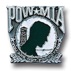 Siskiyou PN1016E Collector Pin - Pow-Mia