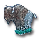 Siskiyou Buckle PN1023E Collector Pin - Oakleaf Buffalo