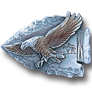 Siskiyou Buckle PN2063E Collector Pin - Eagle on Arrowhead