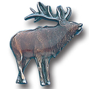 Siskiyou Buckle PN2077E Collector Pin - Elk