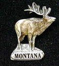 Siskiyou Buckle PN2111E Collector Pin - Montana Elk