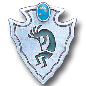 Siskiyou PN2147E Collector Pin - Kokopelli