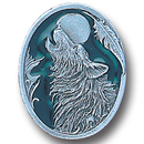 Siskiyou Buckle PN2163E Collector Pin - Howling Wolf