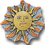 Siskiyou Buckle PN2195E Collector Pin - Sun