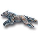 Siskiyou Buckle PN3010E Collector Pin - Free Form Wolf