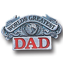 Siskiyou Buckle PN3015E Collector Pin - Worlds Greatest Dad