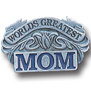 Siskiyou Buckle PN3016E Collector Pin - Worlds Greatest Mom