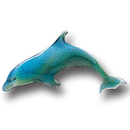 Siskiyou Buckle PN3025E Collector Pin - Dolphin