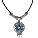 Siskiyou Buckle PT200S Earth Spirit Necklace - Dream Catcher