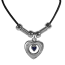 Siskiyou Buckle PT212S Earth Spirit Necklace - Heart in Heart