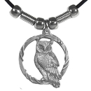 Siskiyou Buckle PT229S Earth Spirit Necklace - Owl