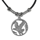 Siskiyou Buckle PT230S Earth Spirit Necklace - Flying Eagle